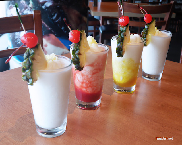 Tony Roma's Tropical Sensations' Mocktails - Add on at only RM11.55 each