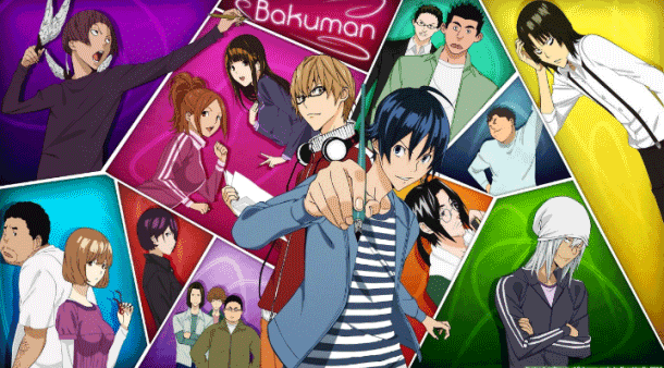 Bakuman - Anime Romance Happy Ending