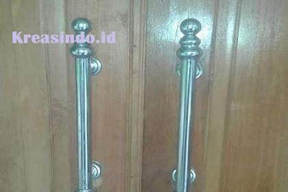 Handle Pintu Stainless Handmade Bengkel Las Stainless di Jabodetabek