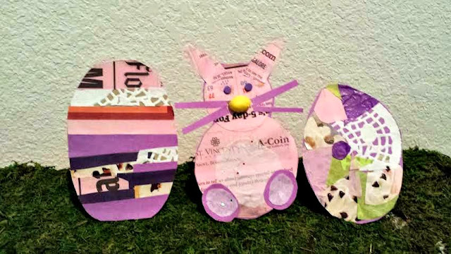 Easter Decorations, Kids' Crafts, Upcycled Crafts