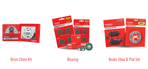 Gunakan Honda Genuine Parts