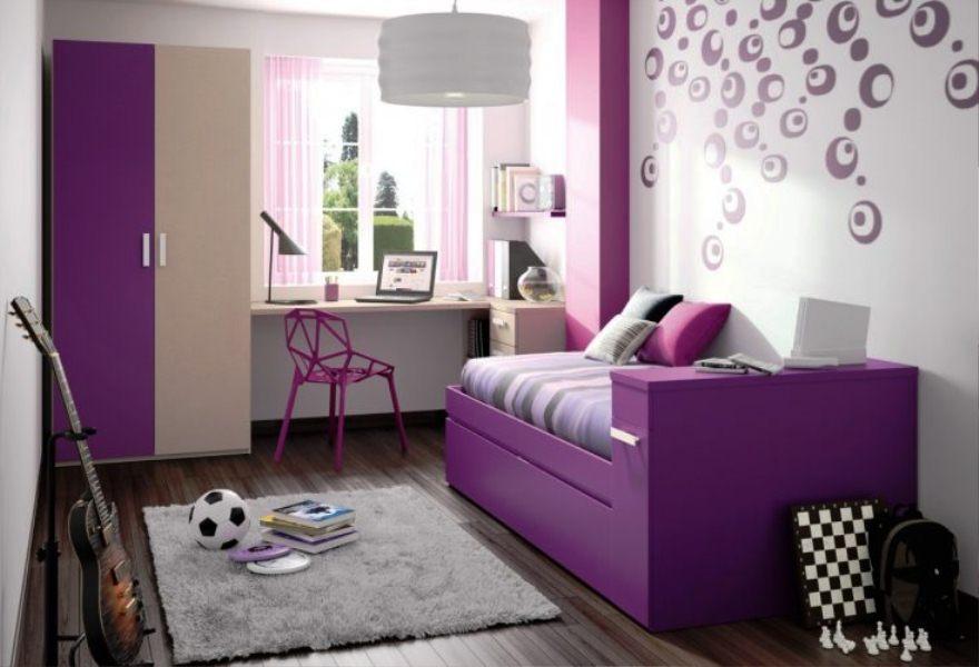 Desain Motif Wallpaper Dinding Kamar Anak Perempuan