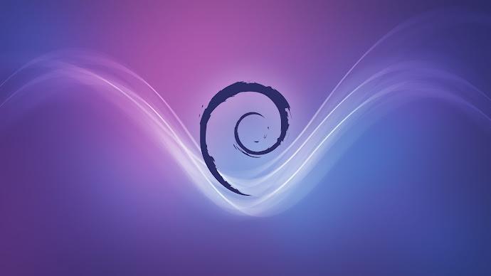 Wallpaper: Linux Debian Stream