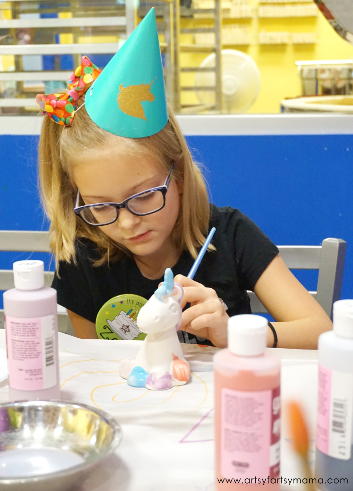 Plan a Unicorn-Themed Pottery Birthday Party at As You Wish Pottery!