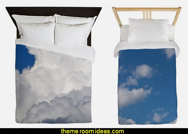 clouds bedding cloud duvet covers cloud theme bedroom decorations