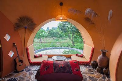 fantastica casa forma de Igloo