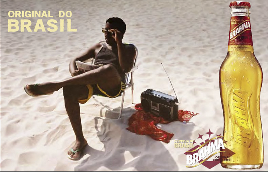 Cerveza Brahma de Brasil