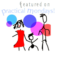 Practical Mondays Link Up on www.practical-mom.com