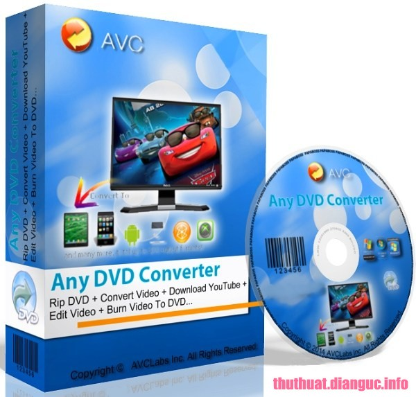 Download Any DVD Converter Professional 6.2.6 Full key