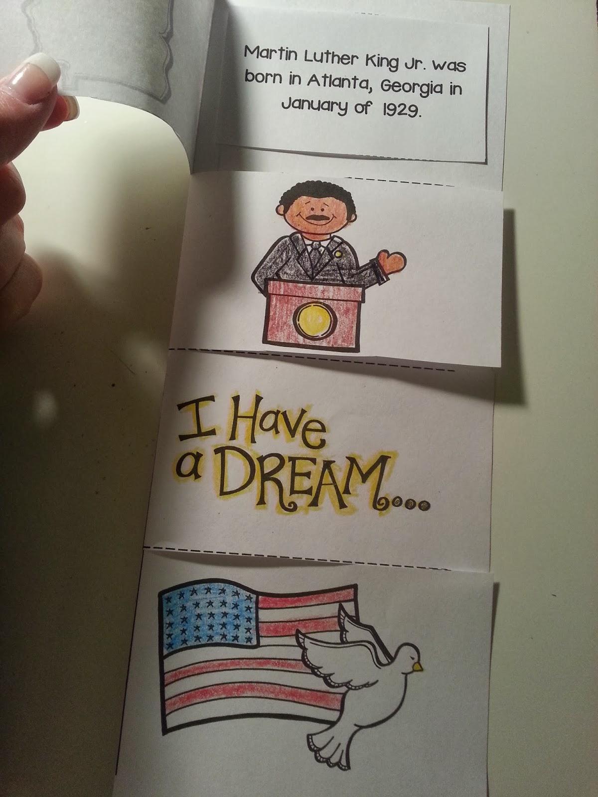 Second Grade Nest Martin Luther King Jr A Little Late
