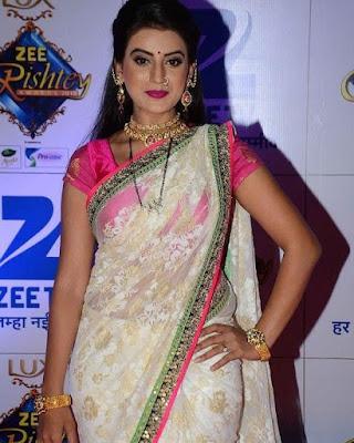 Akshara Singh in Saree