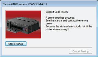 jasa reset printer canon G1000 G2000 G3000 tulungagung