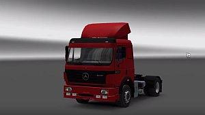 Mercedes-Benz 1838 truck made Stock