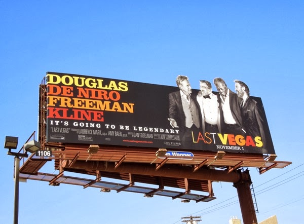 Last Vegas movie billboard