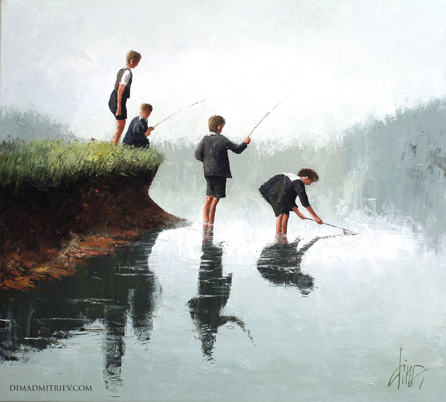 Colorful Paintings By Russian Artist Dima Dmitriev