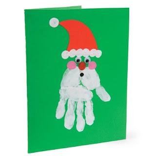 Fun & Easy DIY Christmas Card - Finger print Ideas ไอเดียง่ายๆ สำหรับสร้างสรรค์การ์ดวันคริสต์มาสผ่าน Finger Paint