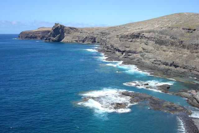 piscinas naturales del norte de Gran Canaria-caleta de turman