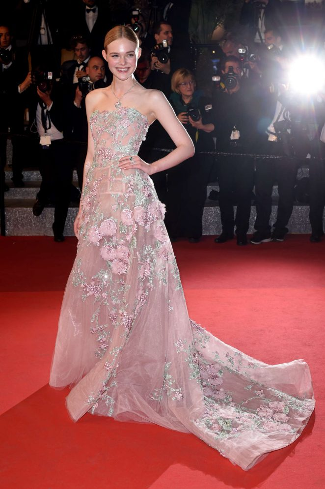 Elle Fanning – 'The Neon Demon' Premiere at 2016 Cannes Film Festival