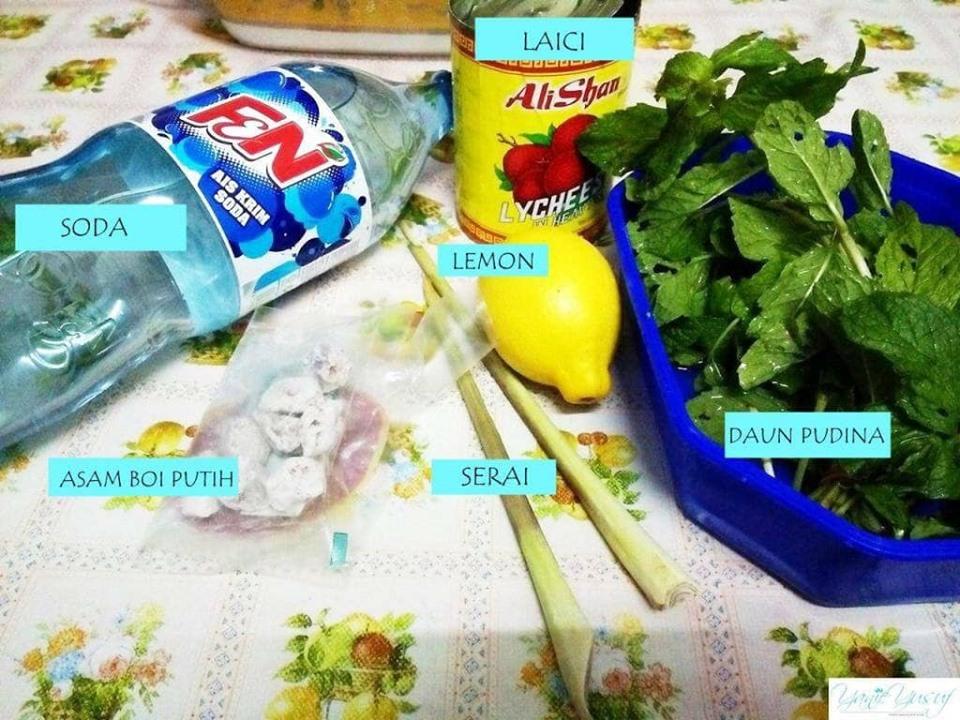 Resepi Air Soda Herbs Viral Lagi Sedap Dan Mudah Dari Dapur Kak Tie