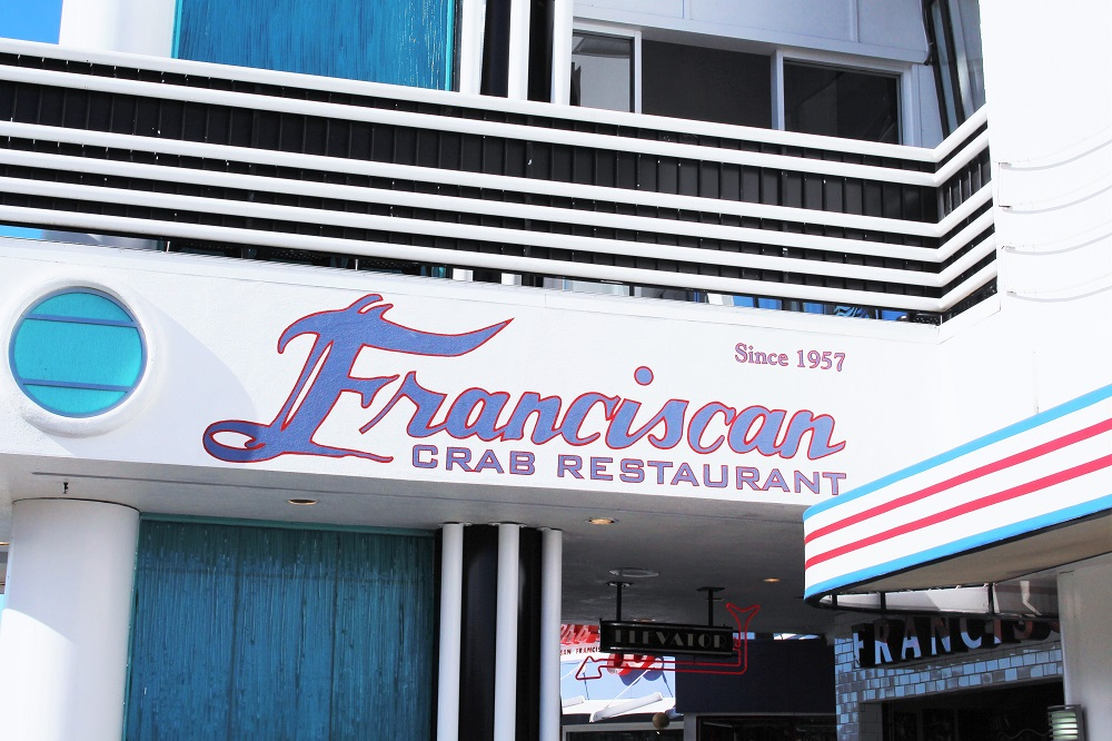Franciscan Crab Restaurant, San Francisco - California travel blog