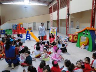 CSJD vivencia o Dia da Infância