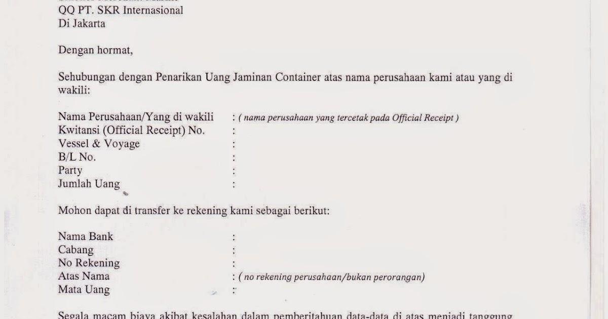 Import Sinokor Pengumuman Penarikan Uang Jaminan Kontainer