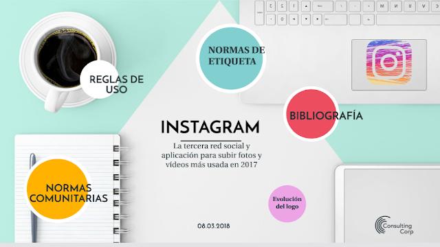 Normas de comportamiento Instagram