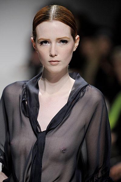 Model Pierced Nipples 7