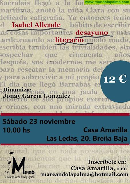 CASA AMARILLA: Desayuno Literario sobre Isabel Allende