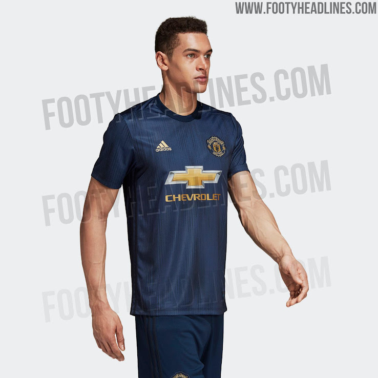 finest selection 91d5b a7fcb Manchester United 18-19 Third Kit Released - Footy Headlines