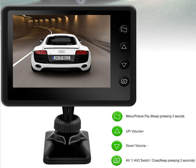 parking camera and rear view camera