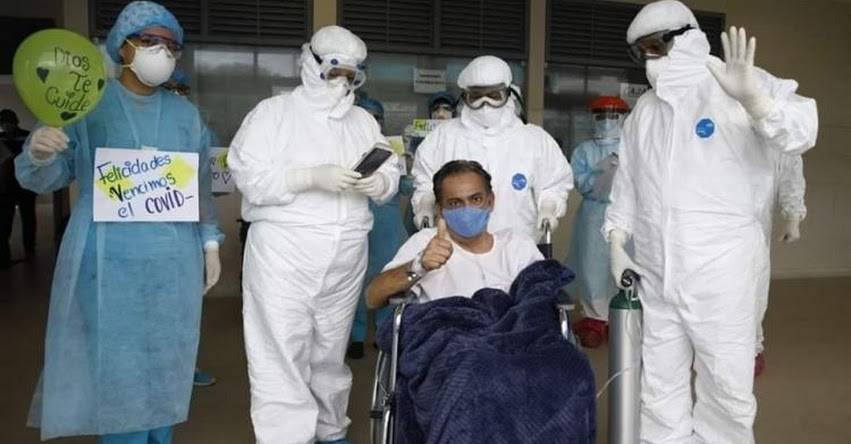 Docente de Moyobamba le gana batalla al coronavirus y abandona UCI para su recuperación [VIDEO]