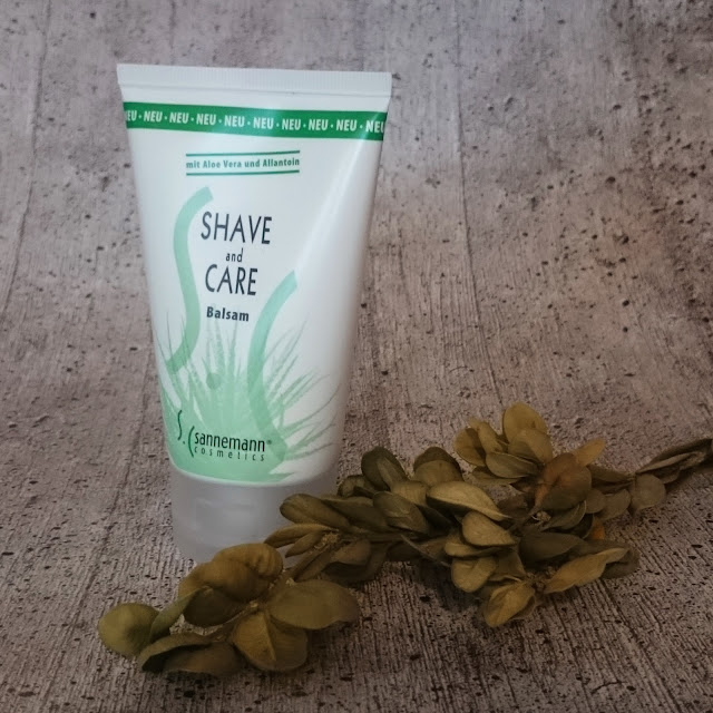 [Beauty] Sannemann Cosmetics Shave and Care Balsam mit Aloe Vera und Allantin