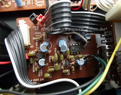 Super Fone CT3000N pcb do intercomunicador