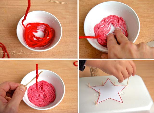 Jak wykonać gwiazdę na Święta