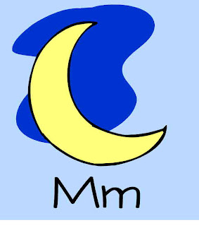 Alphabet Crafts  - Letter M alphabet activities for preschoolers