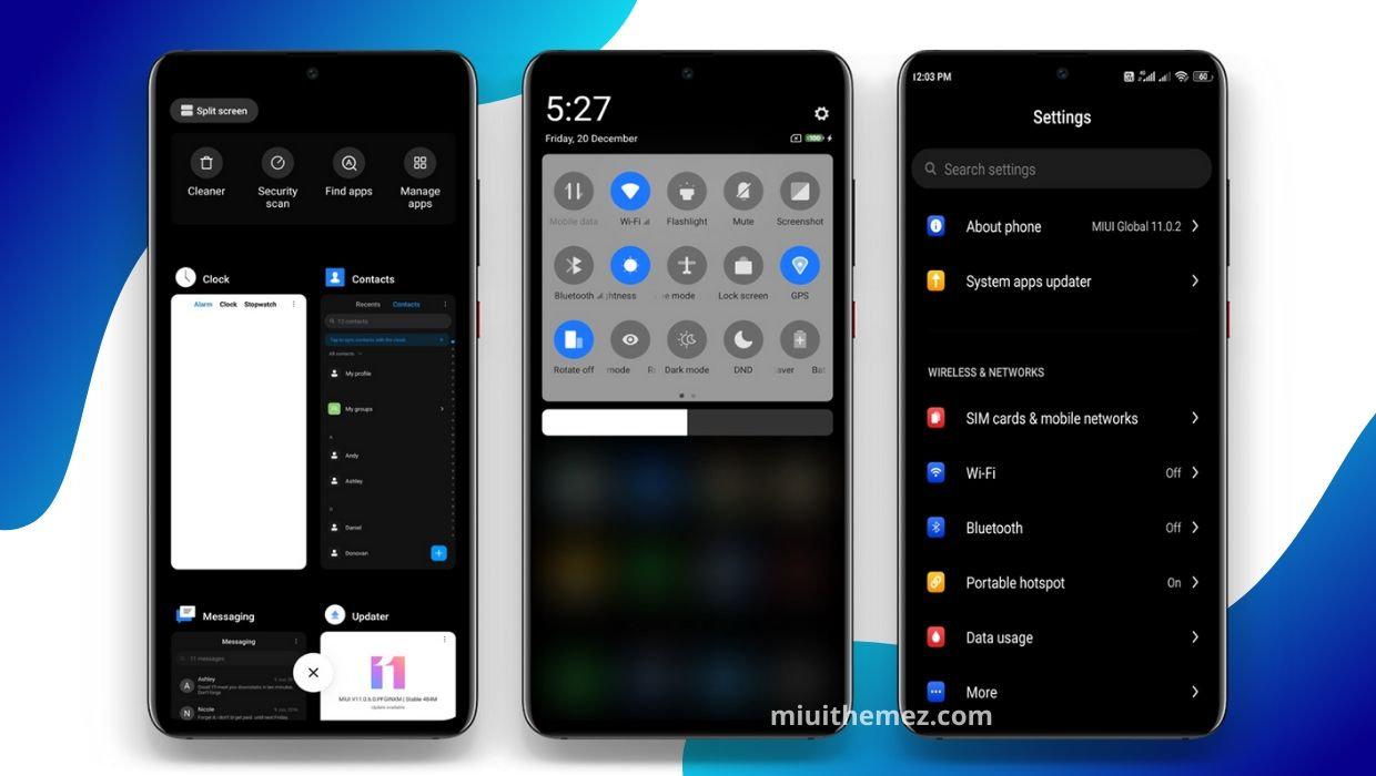 BLACK [Plus] MIUI Theme | A Perfect Dark MIUI 11 Theme