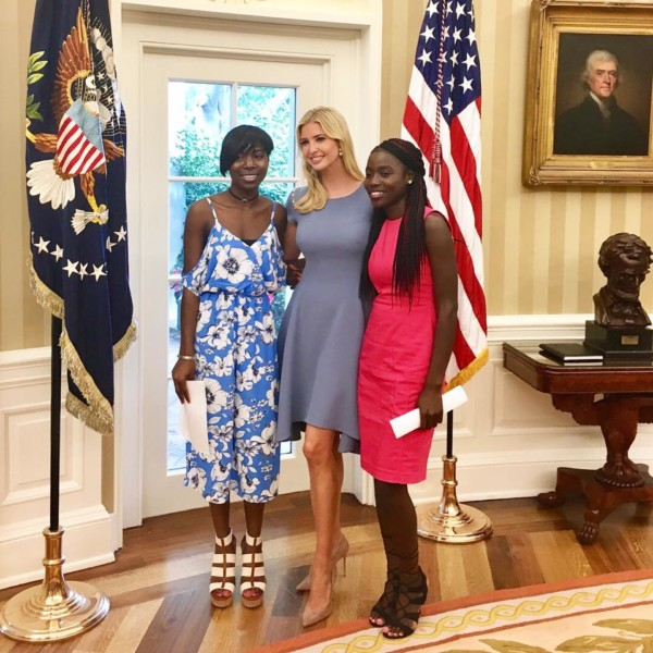 Ivanka-Trump-and-Chibok-girls