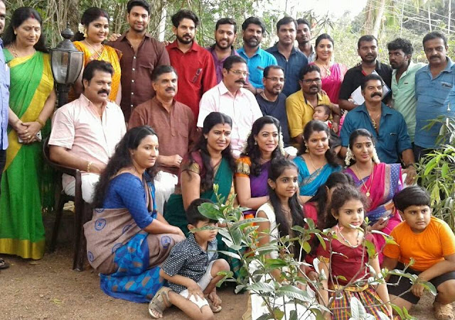 Cast and Crew of Sthreepadam serial