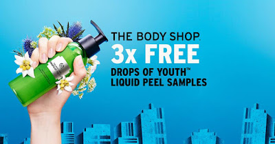 The Body Shop Drops of Youth Liquid Peel Free Samples