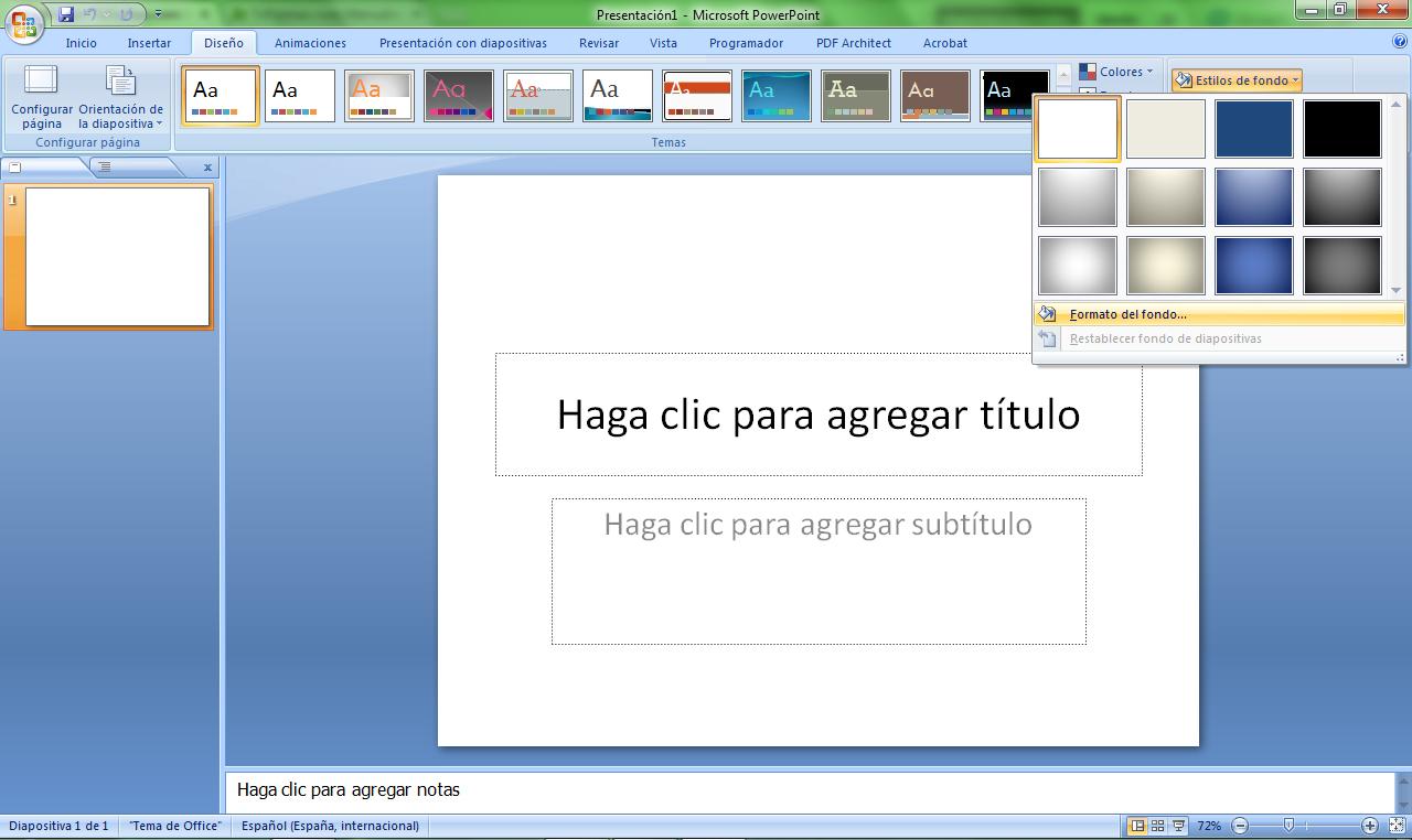 como crear plantillas en power point informÁtica 4 hispanoamerica