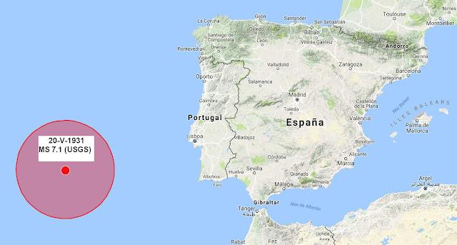 Antonio aretxabala sismicidad en galicia desde el ferrol for Muebles portugal valenca