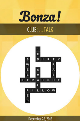 December 26 2016 Bonza Daily Word Puzzle Answers
