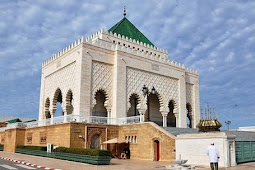 رحلة حول زيارة ضريح محمد الخامس