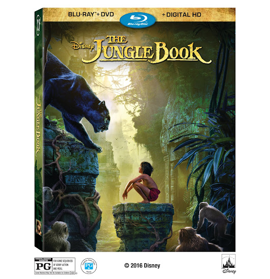 The Jungle Book Blu-Ray Giveaway