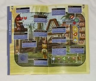 Starfox Adventures - Manual interior
