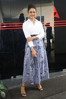 Rakul Preet Singh looks super cute in White Shirt and Skirt at Jaya Janaki Nayaka press meet 10.08.2017 007.JPG