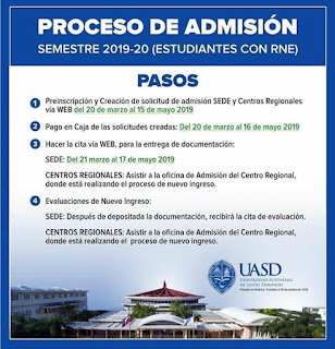 admision proceso