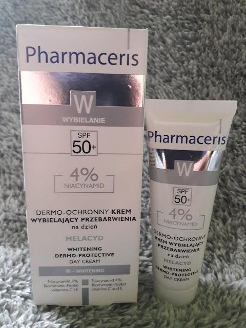 Pharmaceris dermo-ochronny krem wybielający przebarwienia SPF 50+ na dzień - Melacyd