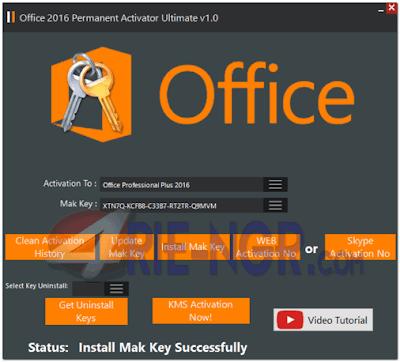 Office 2016 Permanent Activator Ultimate 1.0 Terbaru